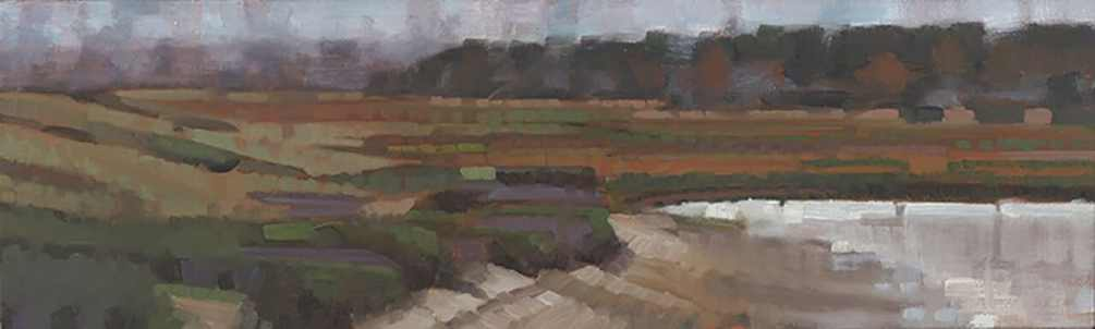 John Harris - Parker Head 2 Oil on Canvas,  2014