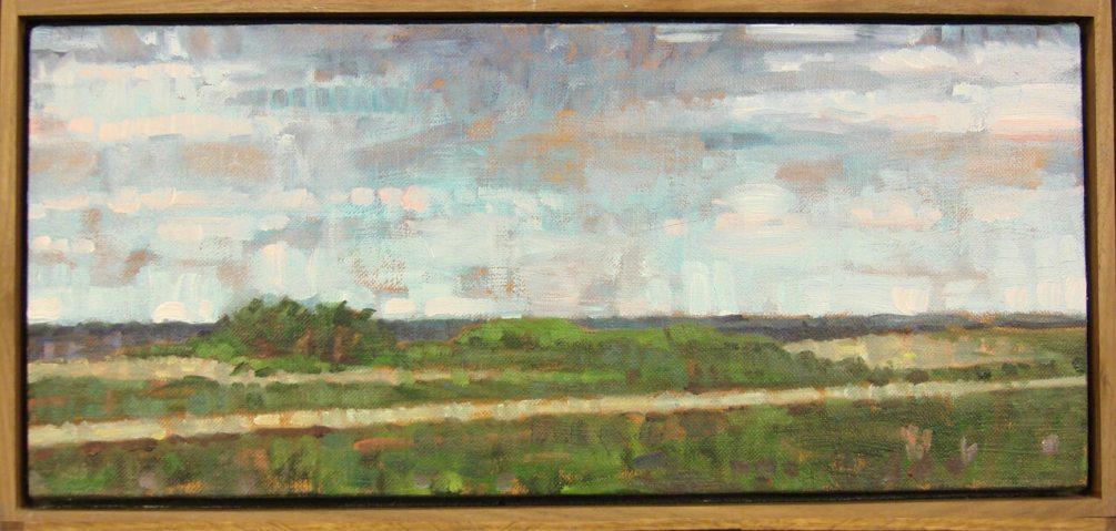 John Harris - Small Landscape - Dimensions: 9x18