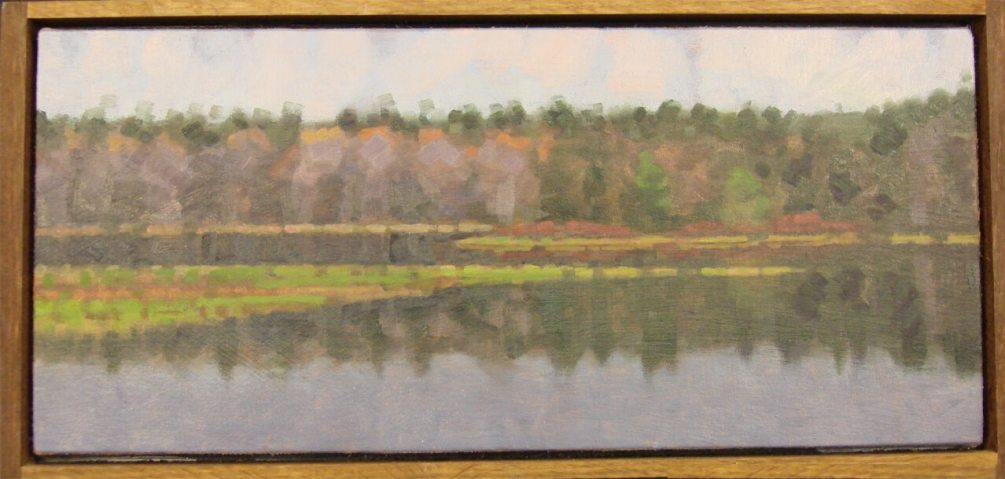 John Harris - Maine water view - Dimensions: 9x18