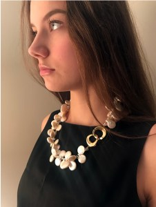 Pearls with clasp