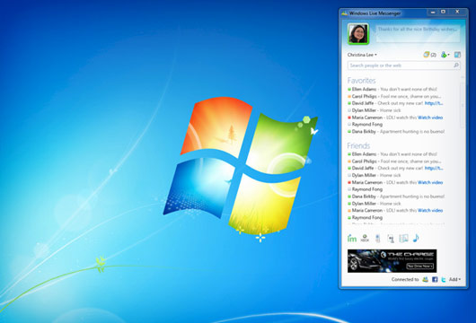 Microsoft presenta: Windows Live Messenger 2010 (4/6)