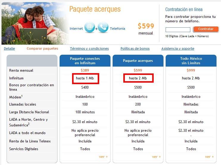 Telmex aumenta velocidad de Infinitum [Confirmado] (2/4)