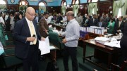 Offensive, Jagdeo, Parliament, Walk Out, Offensive