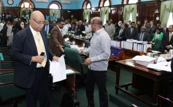 Offensive, Jagdeo, Parliament, Walk Out, Offensive