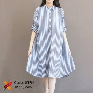 Stripped Cotton Shirt