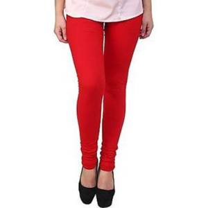 Red Color Legging