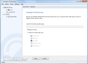 Auslogics File Recovery 9.5.0.1 Crack + Serial Key Full Version 2020