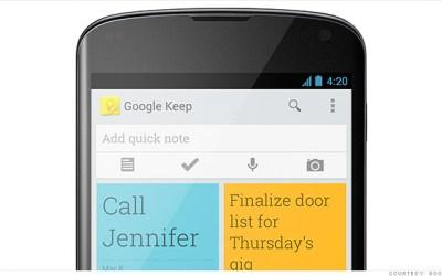 كيف تستفيد من Google Keep على الهاتف والتابلت ومن متصفح كروم على الكمبيوتر