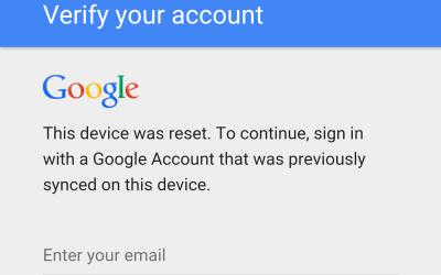 تخطي حماية جوجل بعد الفورمات في أجهزة نيكسس | Google account bypass