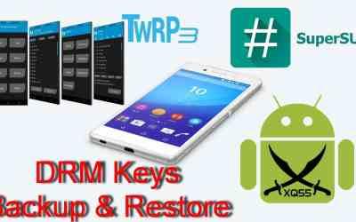 [نسخ احتياطي لـ DRM][فتح بوتلودر][تنصيب ريكفري TWRP وروت على روم مارشميلو 6.0 الرسمي] لجهاز XPERIA Z3 Plus طراز E6553