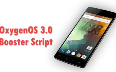 سكربت لتخفيف وتحسين نظام OxygenOS 3.0 لجهاز OnePlus2