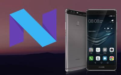 روم Android N Beta لجهاز Huawei P9 نسخة EVA-L19