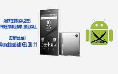 الروم العربي الرسمي مارشميلو 6.0.1 لجهاز XPERIA Z5 Premium Dual طراز E6833