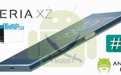 [كيرنال معدل يدعم استعادة الـ DRM Keys][ريكفري TWRP][روت] لجهاز XPERIA XZ Dual طراز F8332