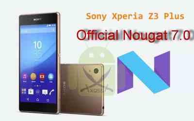 الروم العربي الرسمي Nougat 7.0 لجهاز XPERIA Z3 Plus Dual طراز E6533