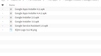 Photo of تفعيل متجر قوقل بلاي XQ55 Google Installer
