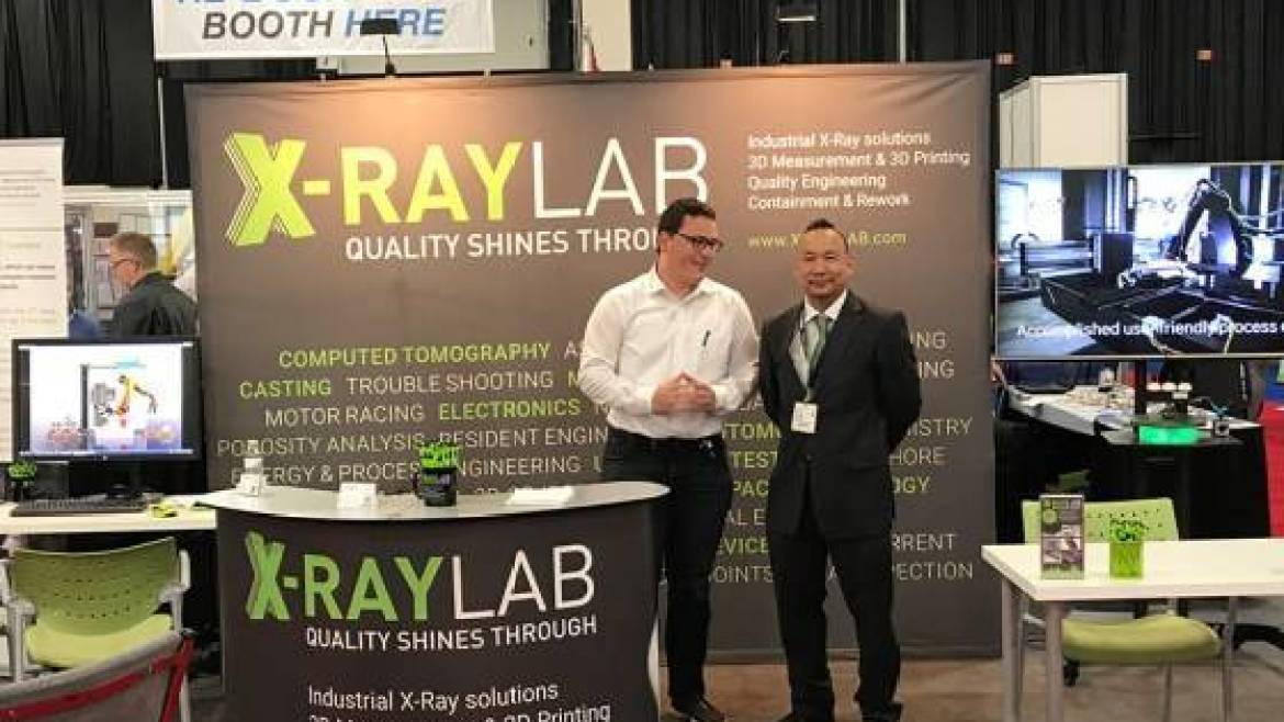 "XRAY-LAB booth at ""the bettery show 2017"""