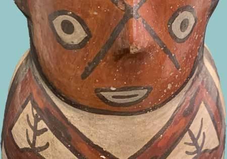 Nazca Skulptur