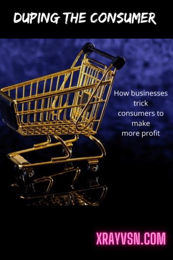 Manipulating consumers