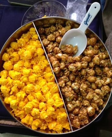 caramel & cheese popcorn