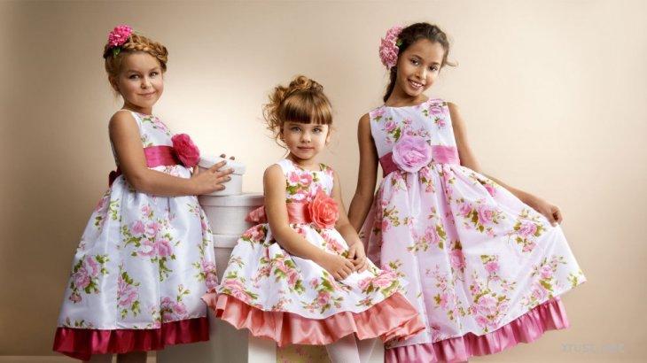 Детская мода: платья