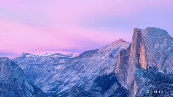 Замечательные обои для рабочего стола Yosemite