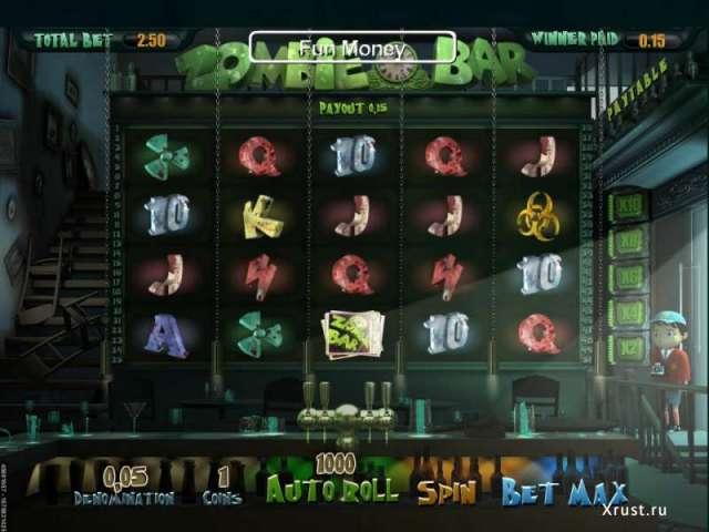 Игровой автомат Зомби играть сейчас