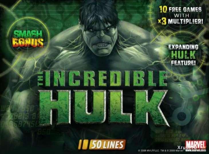 The Incredible Hulk в казино Вулкан Старс