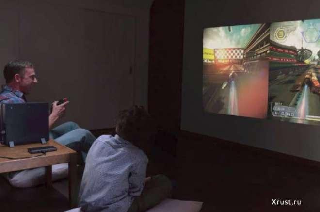 Sony предлагает миниатюрный проектор