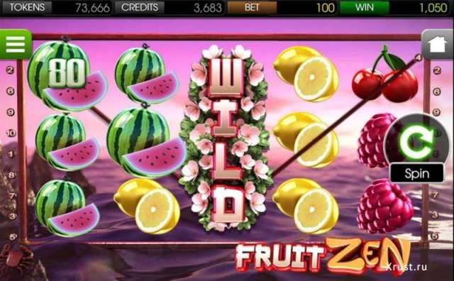 Fruit Zen. Новый слот в казино Вулкан