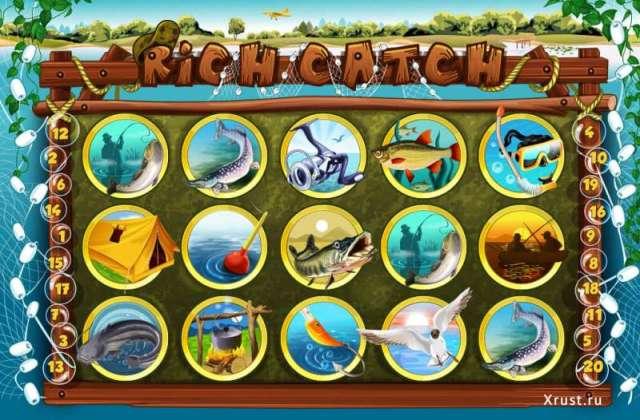 Игровой автомат Rich Catch в казино Вулкан