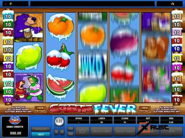 Cabin Fever. Самый морозный слот в казино Вулкан онлайн