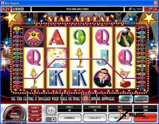 Игровой автомат Star Appeal в казино Азино777