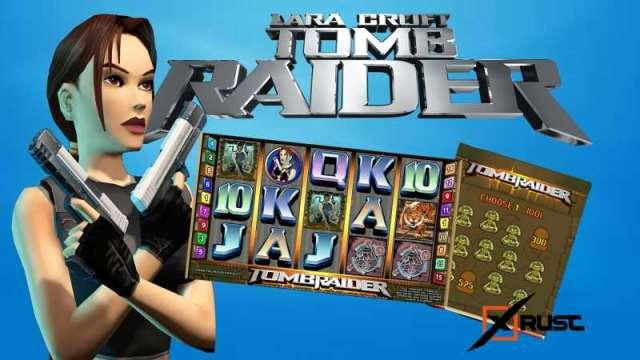 Отыщите сокровища Tomb Raider в ROX казино