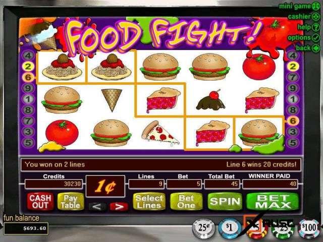 Food Fight в Клубе Эльдорадо