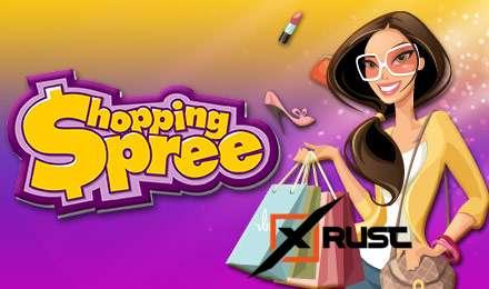 Устрой себе шопинг в казино Вулкан Старс Онлайн с игровым автоматом Shopping Spree