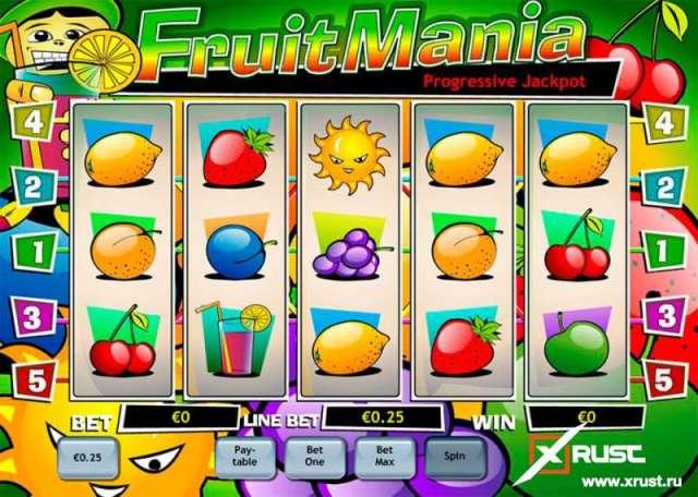 Фруктовый слот FruitoMania в казино Чемпион