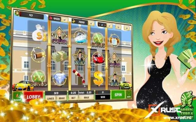 Миллионер. Бонусные игровой автомат в казино Вулкан