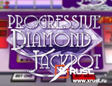 Вулкан Платинум и слот Progressive diamond jackpot