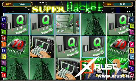 Игровой автомат Super Hacker в казино