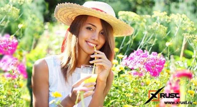 Напитки, которые спасут от жары