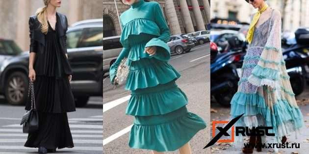 Самые модные платья этой осени