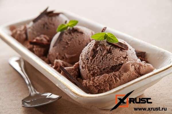 Шоколадное мороженое (постное)