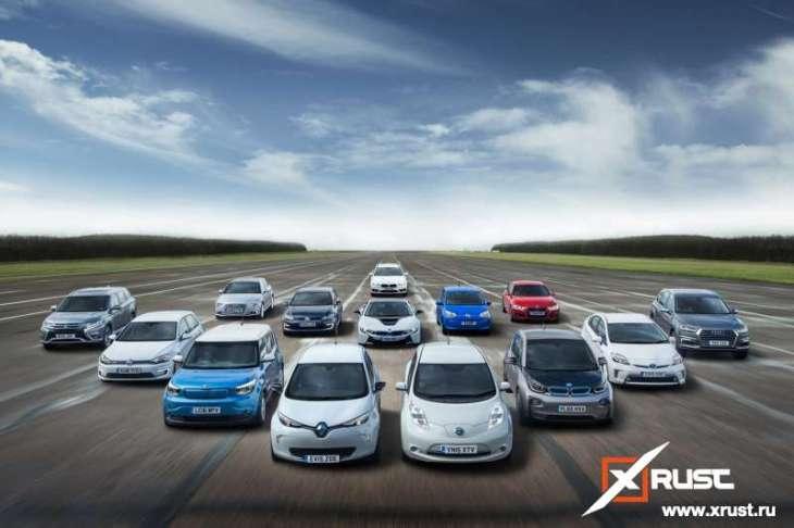 Сколько в России электромобилей