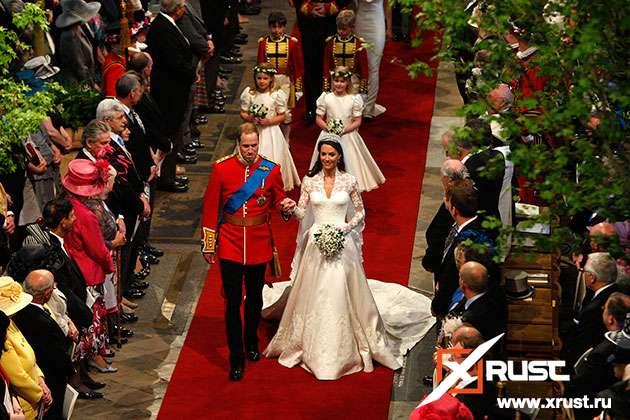 Кейт и Уильям отпраздновали фаянсовую свадьбу