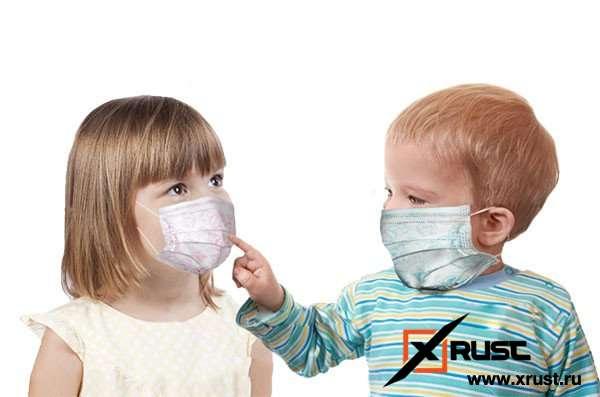 Опасность ношения масок для детей