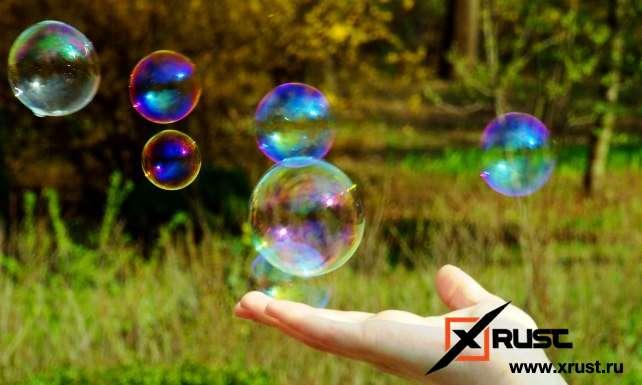 Мыльные пузыри: новый метод использования