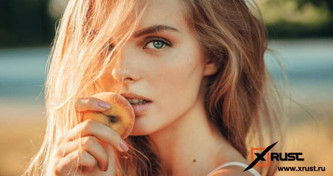 Персиковые маски для лица