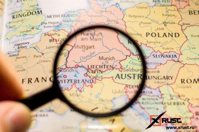 Лихтенштейн требует от Чехии вернуть земли