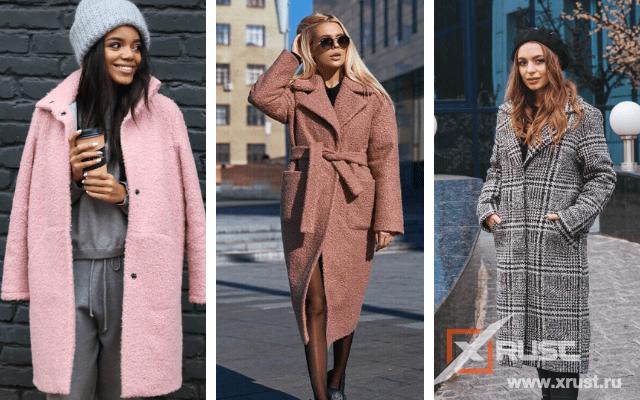 Модные пальто весна-2021